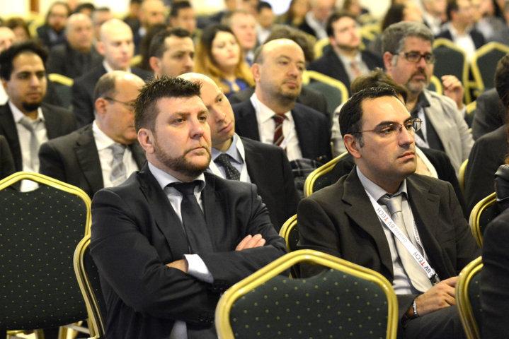 la platea aziendale al meeting annuale di BV TECH