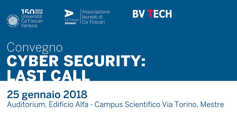 Convegno BV TECH cybersecurity Ca' Foscari