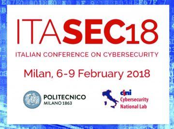 """alt=""""ITASEC18 BV TECH partner della conferenza"""""""