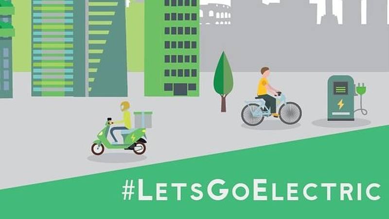 #LetsGoElectric