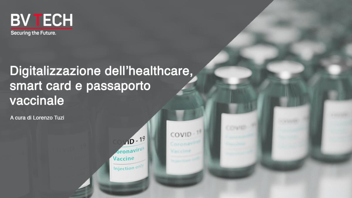 healthcare digitalizzazione passaporto vaccinale